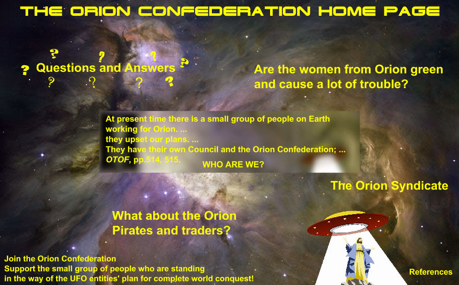The Orion Confederation Home Page